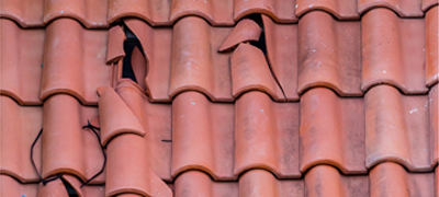 House roof tiles
